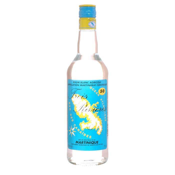 Bières et autres boissons alcoolisées Bouteille-de-rhum-trois-rivier