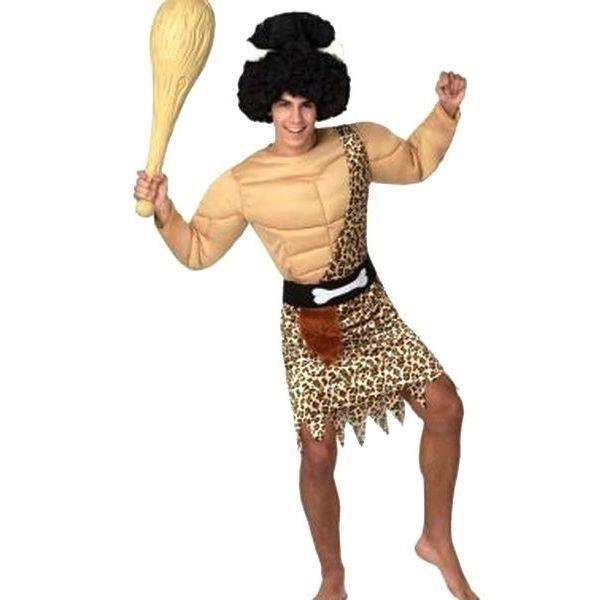 Les Européens et les Asiatiques dotés d'une plus grande diversité génétique que le reste de l'humanité, grâce au Néandertalien Deguisement-homme-des-cavernes-muscle-m-l