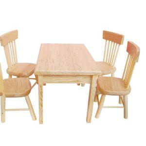 Salle de jeux pour tous  Mini-table-enfant-4pcs-chaise-meubles-miniatures-m