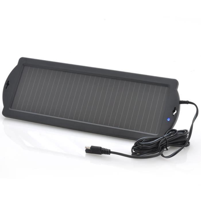 branchement batterie Chargeur-solaire-batterie-de-voiture-12v-1-5w