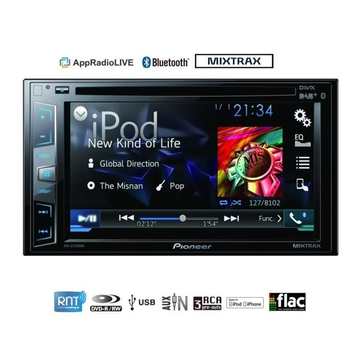 Présentation Kooshou Pioneer-avh-x3700dab-autoradio-video-connecte-6-2
