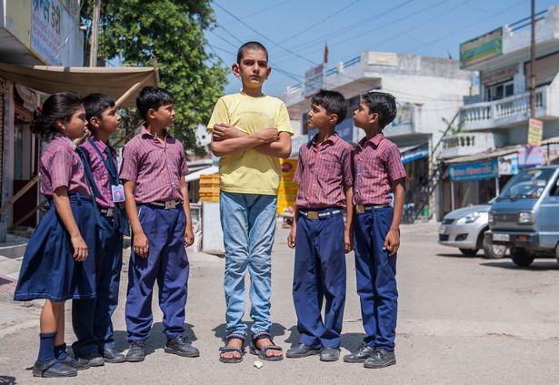 La historia del niño más alto de la India, Karan Singh Karan-Singh