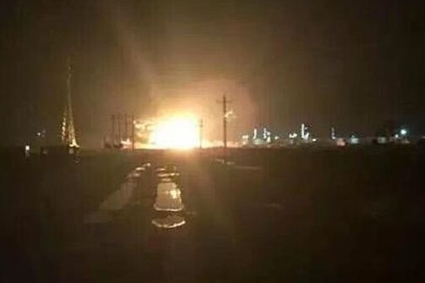 Another EXPLOSION Hits Shandong, China (Third Blast In 2 Weeks)  Massive-chemical-blast-in-Shandong-China