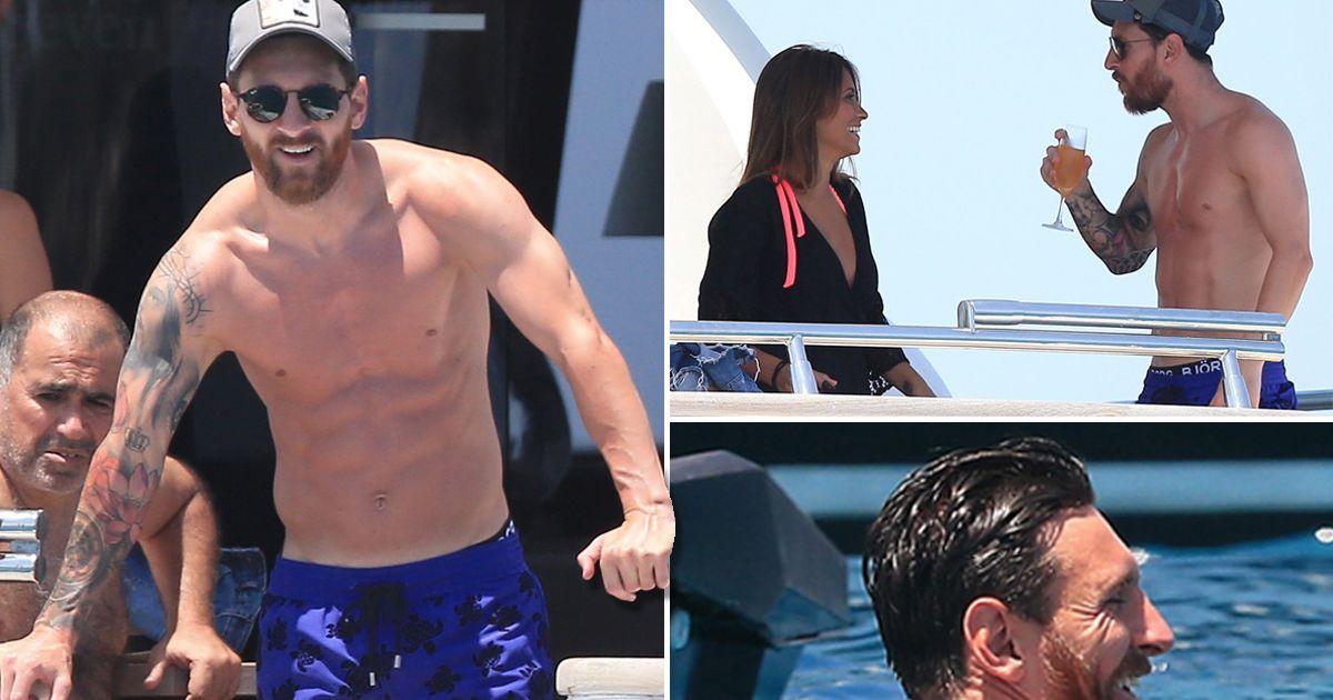 Supercopa de Espana: Sevilla Vs Barcelona PAY-Lionel-Messi-on-holiday-in-Ibiza-on-a-yacht-MAIN
