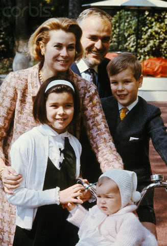 Estefanía de Mónaco 19661