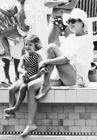 Estefanía de Mónaco 1969