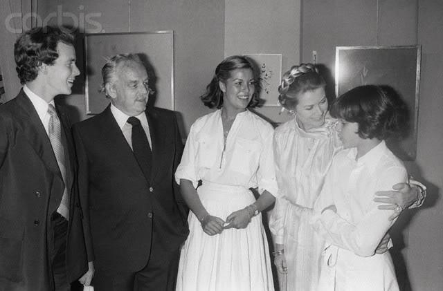 Estefanía de Mónaco 1977
