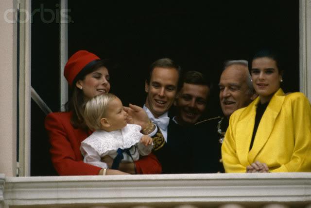 Estefanía de Mónaco 19852
