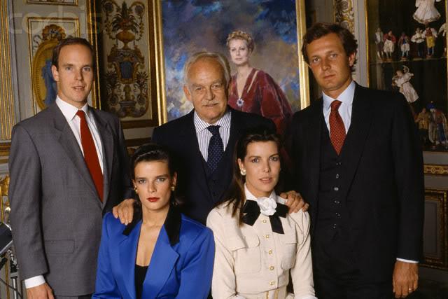 Estefanía de Mónaco 1988