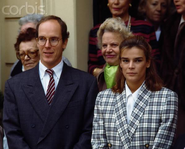 Estefanía de Mónaco 19911