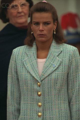 Estefanía de Mónaco 1997