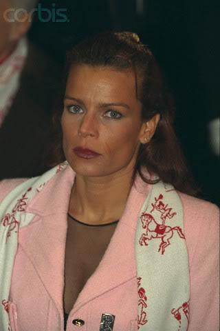 Estefanía de Mónaco 1997circo