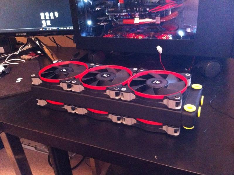 [WIP]  Caselabs M8 Republic of Gamers, 2e essais de watercooling rig IMG_0294