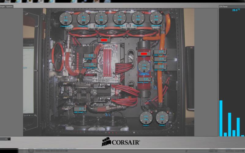 """je test le """"Corsair Link"""" pour une custom loop Corsairlink"""