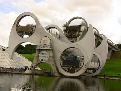 anybody know what this is/was ???? Falkirkwheel
