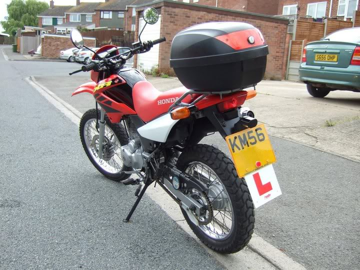 skint again... another new bike Rear