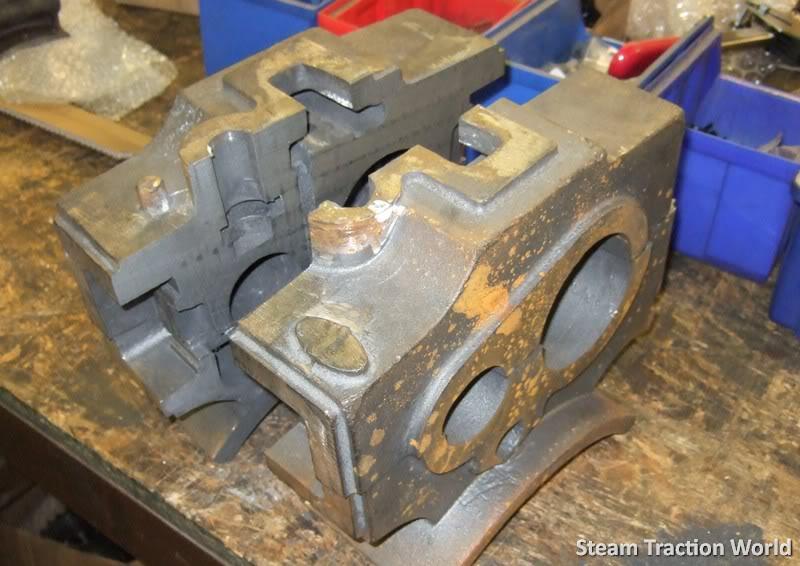 showmans cylinder block !!! 0014007-1
