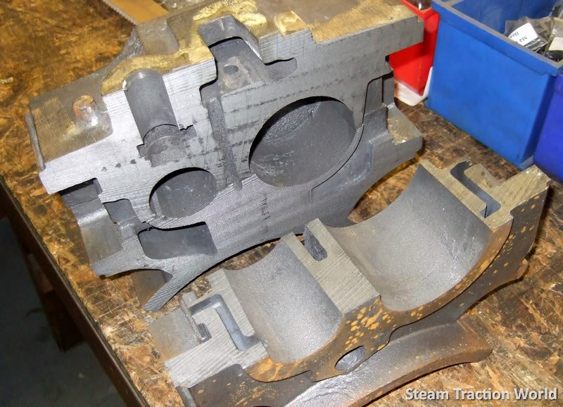 showmans cylinder block !!! 0014008-1