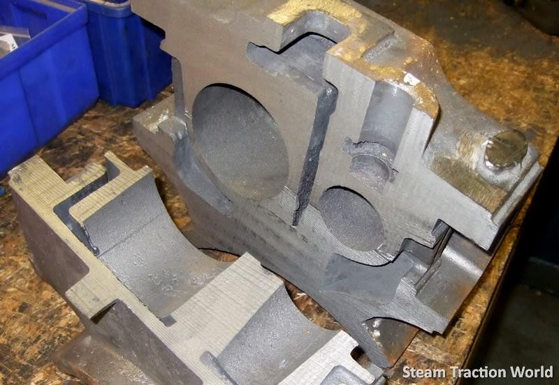 showmans cylinder block !!! 0014010-1