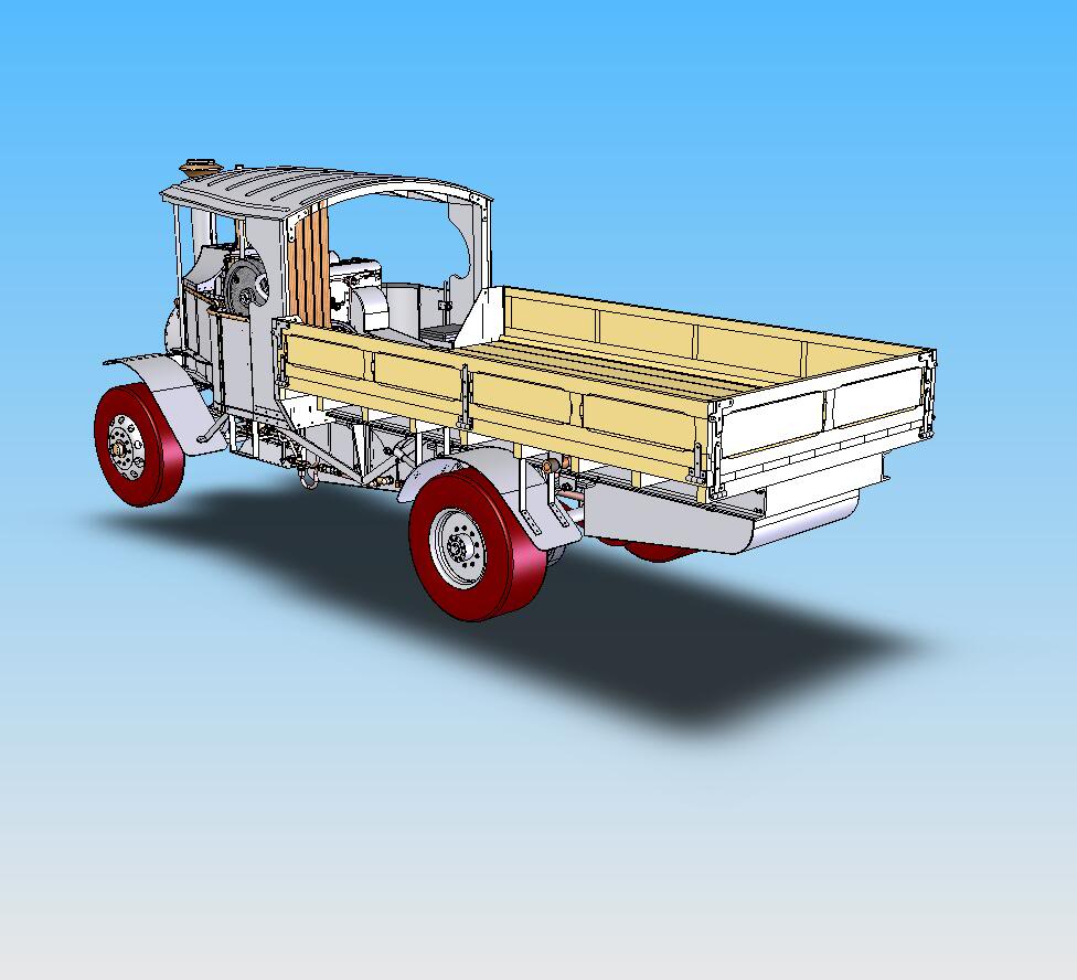 foden C type drop down sides kit Ctypekit25