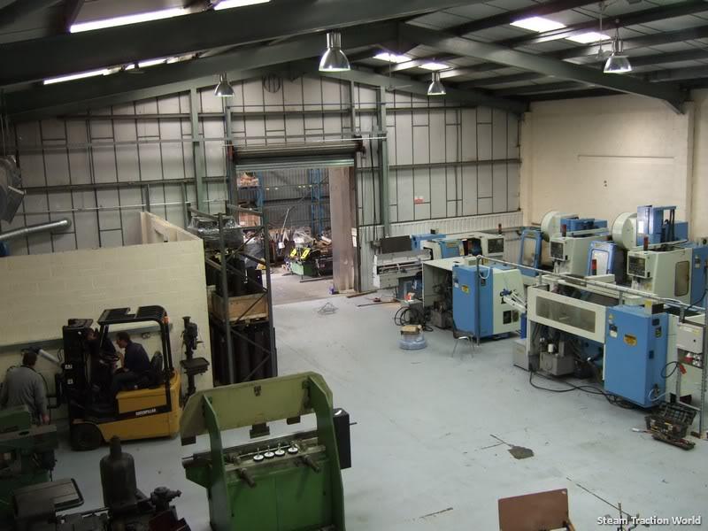 new factory progress so far... Move4075