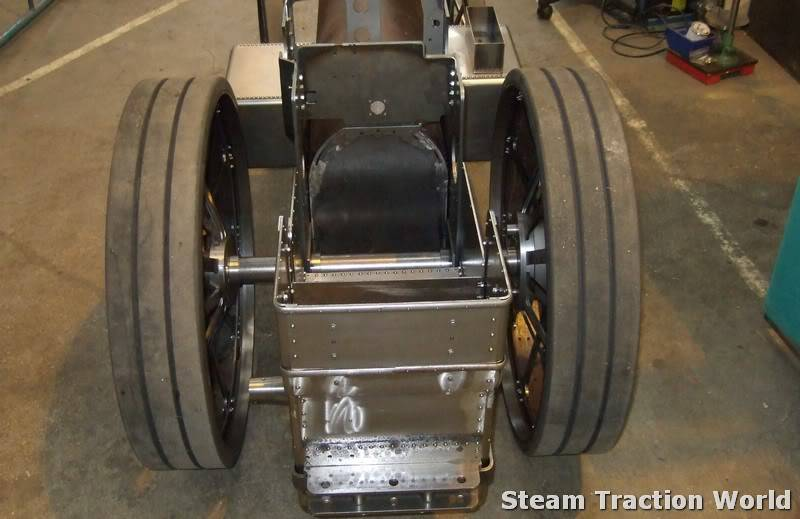 Showmans / Road loco rolling chassis Jkl026-1
