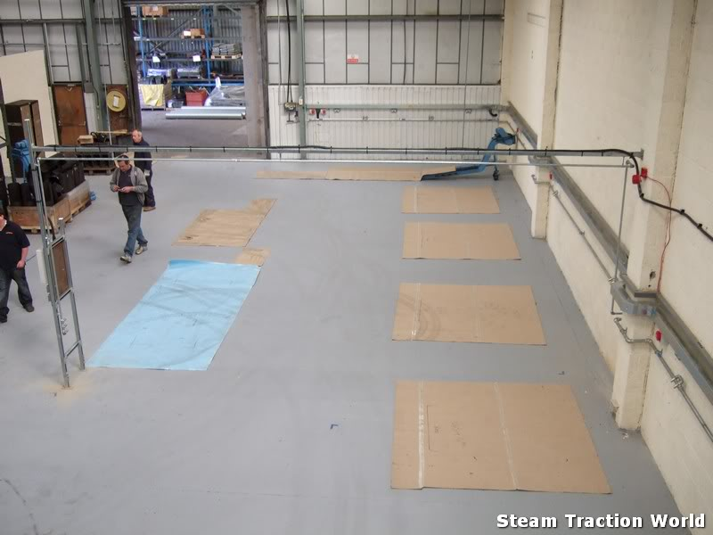 new factory progress so far... Stwmove3005