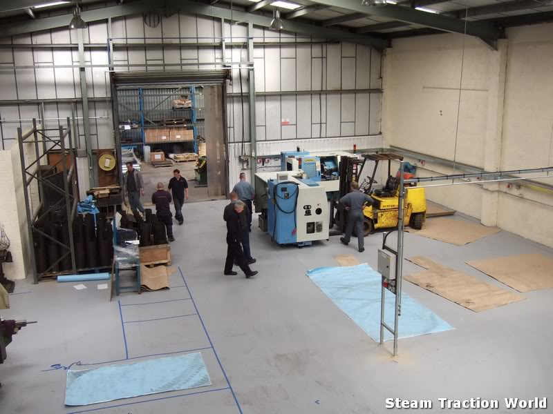 new factory progress so far... Stwmove3027