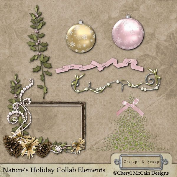 Natures Holiday Collab NaturesHoliday_elements_CMD_prv