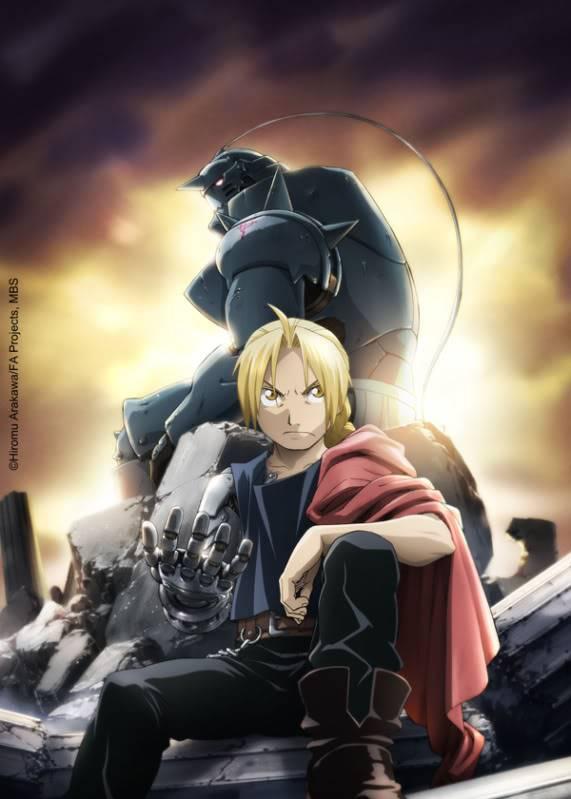 ¿Que anime de este año 2009 puedes recomendar (no importa el genero)? FMA---Brotherhood-keyart