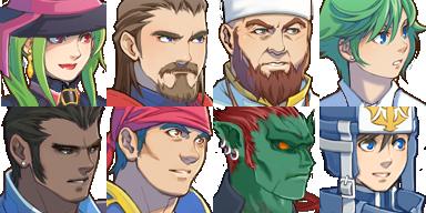 แจก Faces & Characters CartFaces