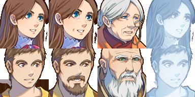 แจก Faces & Characters Couple