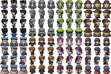 แจก Faces & Characters Chacses