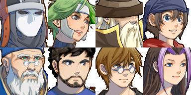 แจก Faces & Characters Facecses