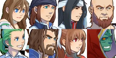 แจก Faces & Characters NuFaces