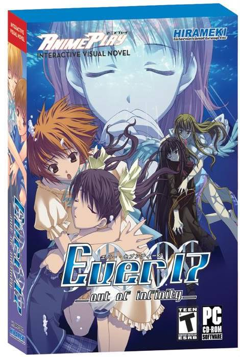 [Visual Novel] Ever 17 - The Out of Infinity EVER17cover
