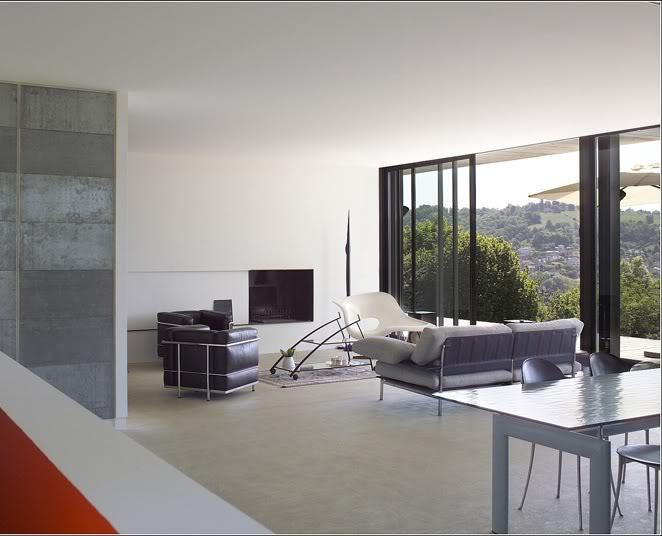 photos de salon salle manger design. Black Bedroom Furniture Sets. Home Design Ideas