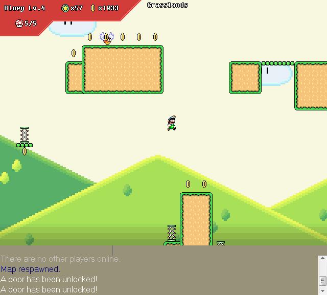 Eclipse Evolution 2.7 [Super Mario MOD] SMD_Grasslands