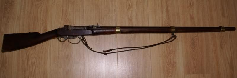 pistolet poudre noire système - vidéo KL1