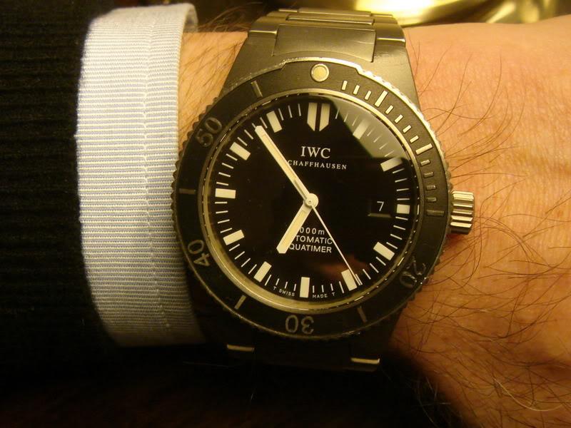 Le coup de griffes du soir - IWC Aquatimer Iwc001