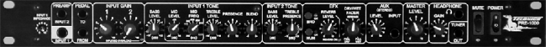 Telonics Pre1000-Front