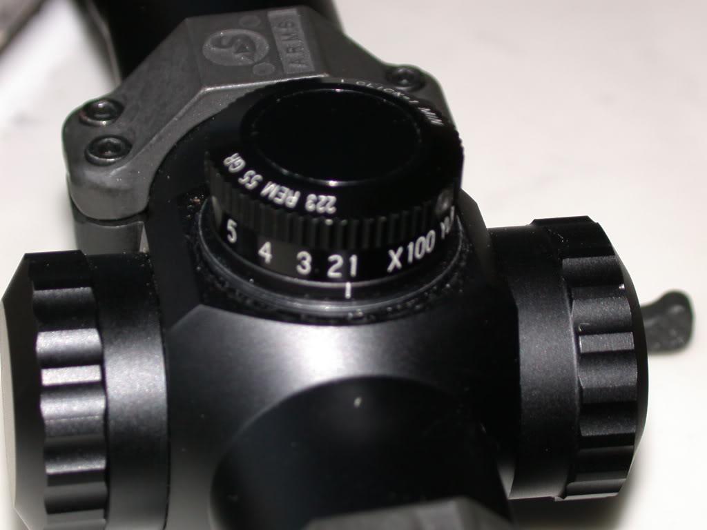 Quelle tourelle sur une leupold mark 4 223BDCM3