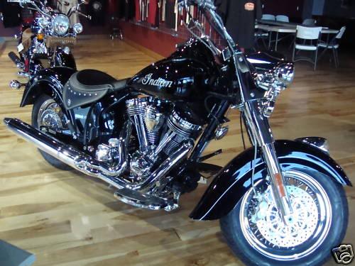 2009 Indian Motorcycles (Chief, Deluxe & Roadmaster) 2009IndianChiefBlackVIN224