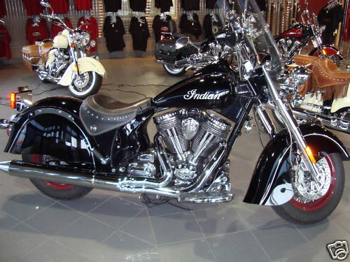 2009 Indian Motorcycles (Chief, Deluxe & Roadmaster) 2009IndianChiefBlackVIN263