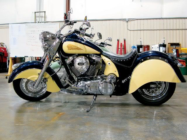 2009 Indian Motorcycles (Chief, Deluxe & Roadmaster) 2009IndianChiefDeluxecreamblue
