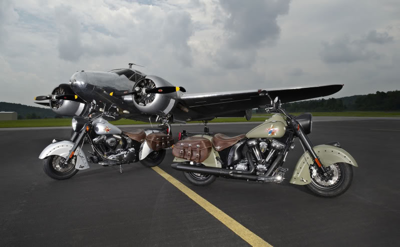 """2010 Indian Chief """"Bomber"""" Special Edition 2010IndianChiefBomberLimitedEdition"""