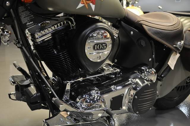 """2010 Indian Chief """"Bomber"""" Special Edition Bomberenginetreatment"""