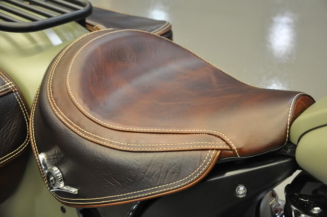 """2010 Indian Chief """"Bomber"""" Special Edition Bombersaddle"""