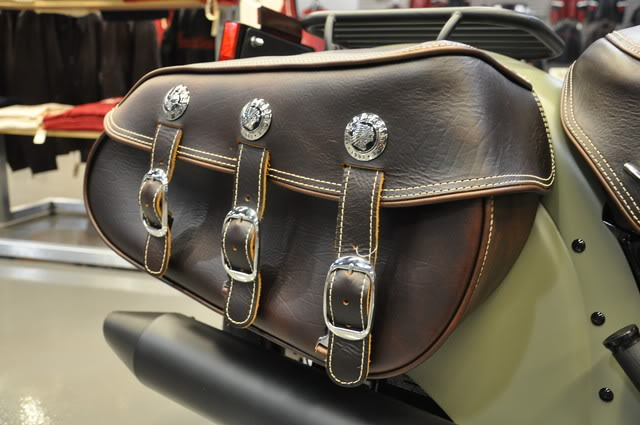 """2010 Indian Chief """"Bomber"""" Special Edition Bombersaddlebag"""