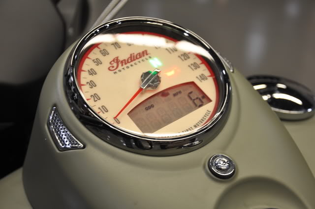"""2010 Indian Chief """"Bomber"""" Special Edition Bomberspeedgage"""